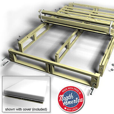 Easy Fit Box Spring bed frame - Collapsible box spring - in Queen and King sizes