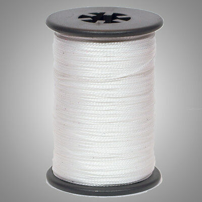 """White BCY Halo .014"""" Braided Spectra Serving Material Spool Bow String"""