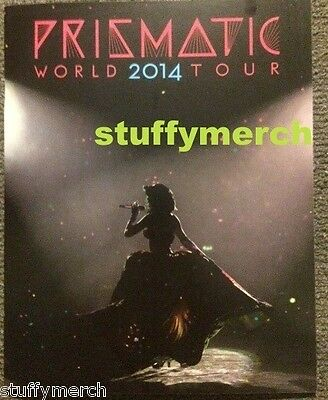KATY PERRY RARE Prismatic Tour VIP Photo Tour Book - Not sold at show