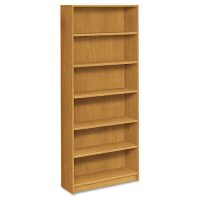 "6-Shelf Bookcase, 4 Adj., 36""x11-1/2""x84"", Harvest HON1877C"