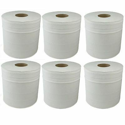 2 Ply White Centrefeed Roll Paper Towel Industrial - Home - Office