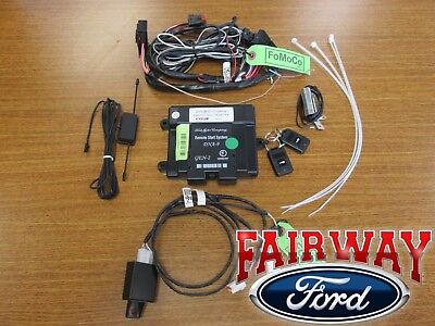 14 thru 19 Fiesta OEM Genuine Ford Remote Starter Kit w/o Push-Button Start