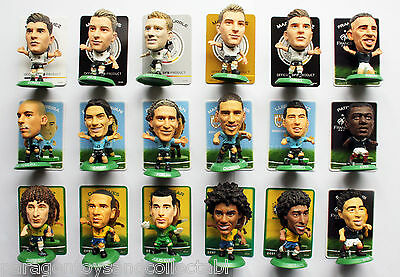 WORLD CUP 2014 HOME KIT SOCCERSTARZ - Choice of 15 different loose figures