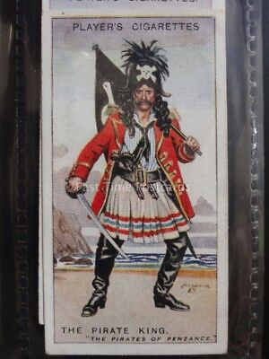 No.30 THE PIRATE KING Gilbert and Sullivan A Series - John Player 1925