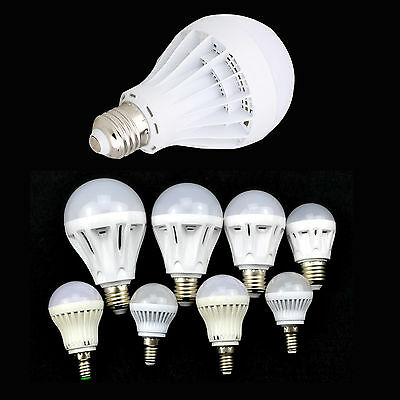 New E14 E27 3w 4.5w 5w 6w 7w 7.5w 9w SMD LED bulb light lamp warm cool white