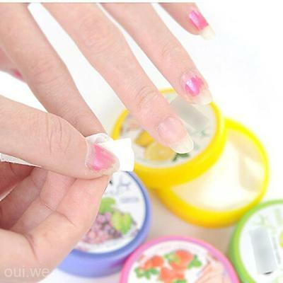 Lot 32Pc Scented Wet Wipes Paper Towel Nail Art Polish Rinse Remover Pads Piece