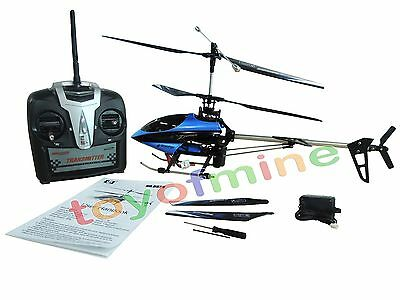 SH 8829 2.4GHz 4CH Channel GYRO Metal Frame Radio Remote RC Control Helicopter B