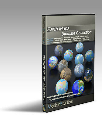 MotionStudios Earth Maps Ultimate Collection