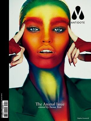 ANTIDOTE #4 Animal Issue TXEMA YESTE  DAPHNE GROENEVELD Cover @NEW@ TONY WARD