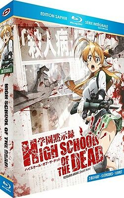★ High School of the Dead ★ Intégrale + OAV - Edition Saphir [3 Blu-ray]