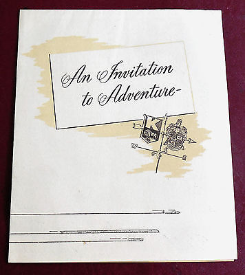 1948 1949 Kaiser Frazer Willow Cottage Factory Delivery Guest Home Brochure