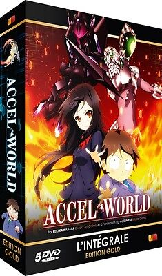 ★ Accel World ★ Intégrale - Edition Gold - Coffret 5 DVD