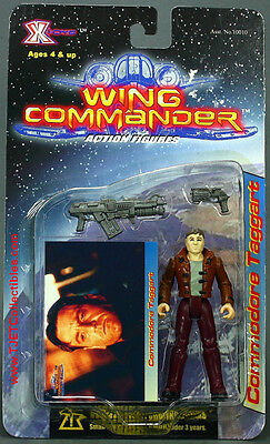 """Wing Commander series 1 Commodore Taggart 3.75"""" action figure MIP 1999 X-Toys"""