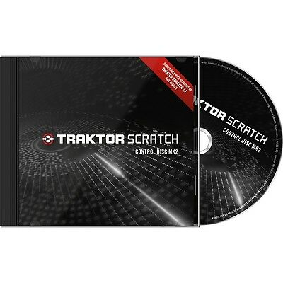New Native Instruments Traktor Scratch Pro Timecode Control Disc MK2 CD's PAIR