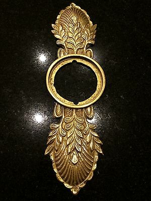 Decorative Solid Brass Door Lock Plate