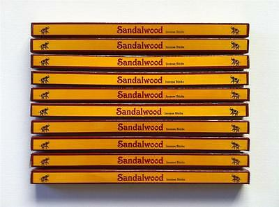 Sandalwood Incense Sticks Kamini Brand 10 Box Bulk Pack Total 80 Sticks