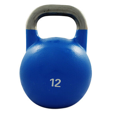 12Kg Competition Steel Kettlebell Pro Grade Kettle Bell Gym Crossfit Strength