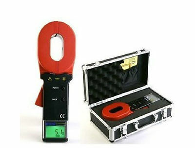 ETCR2000A+ Digital Clamp On Ground Earth Resistance Tester Meter 1-199Ω UKG