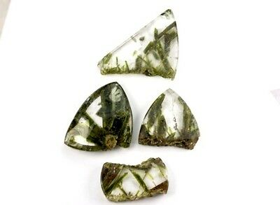 GemsVillage 84 Ct. Very beauty defined crystal of Epidote on colorless Quartz