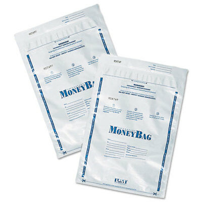 "Disposable Money Bag, Plastic, 9""x12"", 100/PK, Opaque PMC58001"