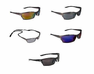 Radians Adrenaline Polarized Shooting Glasses w/ Neck Cord & Clamshell Hard Case