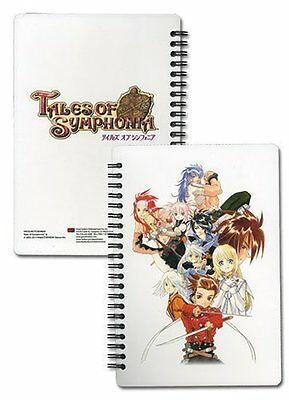 *NEW* Tales of Symphonia PS2 Key Art 2 Spiral Notebook