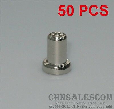 50 PCS AG-40A PT-31 Nickel Plated Extended TIP AIR Plasma Cutter Consumables