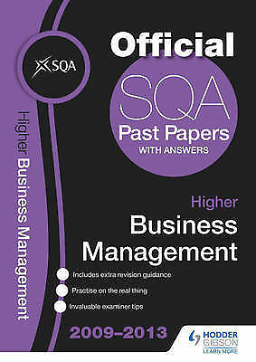 sqa advanced higher business management past papers