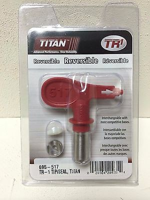 Titan 695-517  0289729 TR1 Reversible Airless Spray Tip And Seal