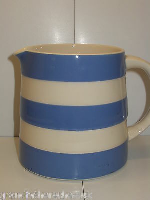 T G GREEN CORNISH BLUE CORNISHWARE 30oz DREADNOUGHT JUG MADE IN ENGLAND