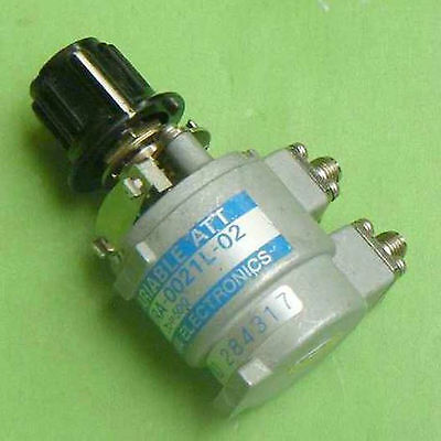 Japan TAMAGAWA URA-0021L-02 1dB, Step 0.2dB SMA RF Variable Attenuator #VA09-R