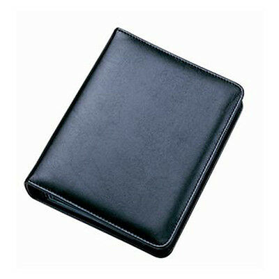 Collins Faux Leather Refillable Business Card Holder Ring Binder Folio Book 2745