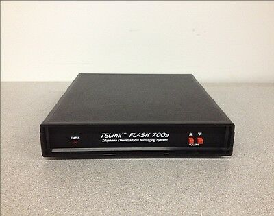 TELink Flash 700a Telephone Downloadable Messaging System TELink 700a