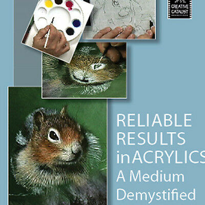 NEW DVD: RELIABLE RESULTS IN ACRYLICS A Medium Demystified with David Kitler