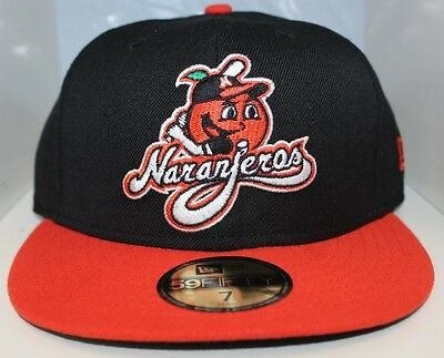 Naranjeros de Hermosillo New Era Mexican Pacific League 59Fifty Fitted Hat-2Tone