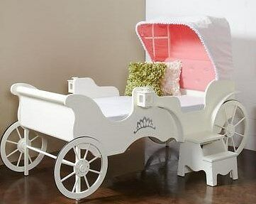 Princess Carriage Canopy Bed