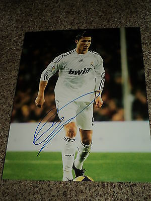 Cristiano Ronaldo Signed Real Madrid 11x14 Photo with proof
