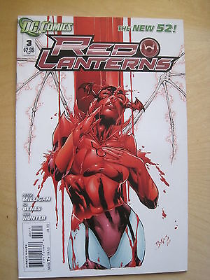 RED  LANTERNS  # 3, BY  PETER MILLIGAN & BENES. 1st  PRINT. THE NEW 52. DC. 2012