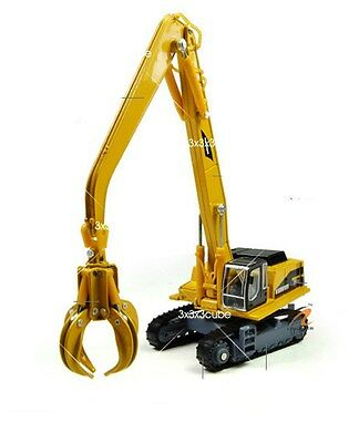 1/87 Grab & Magnet Attach Crane Construction Equipment Diecast Model 1:87 By KDW