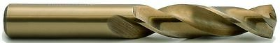 "23/32"" Heavy Duty Cobalt 135° Notched Point Stub Length Drill USA #600C-23/32"