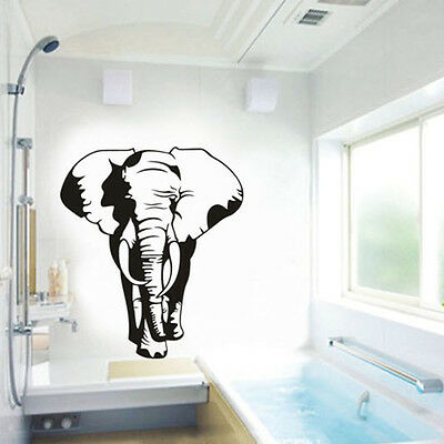 Wild Animals Elephant Home Decor Removable Art Vinyl Wall Sticker Decal Mural