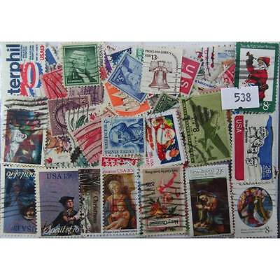 200 USA stamps in packet (538)