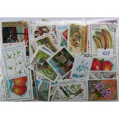 300 Africa stamps in packet. Mainly large. (497)
