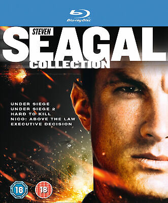 The Steven Seagal Collection [2012] [Region Free] (Blu-ray)