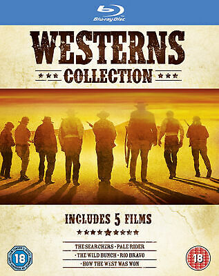 Westerns Collection [1956] [Region Free] (Blu-ray)
