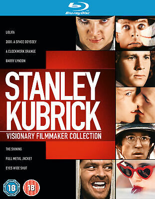 Stanley Kubrick: Visionary Filmmaker Collection [1962] [Region Free] (Blu-ray)