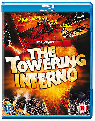 The Towering Inferno [1974] (Blu-ray) Steve McQueen, William Holden