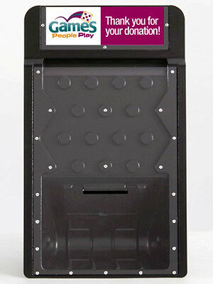 Black Dynamic Donation Box Great For Fundraising Tradeshows Games Retail Stores