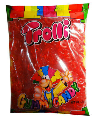 Trolli Lips 2kg Candy Buffet Gummy Mouth Lollies Sweets Lolly Party Favors New