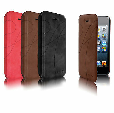 New Genuine KLD wallet flip PU leather case for iPhone 5S 5G 5 4S 4G 4 Galaxy S4